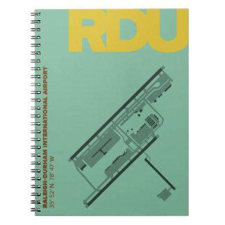 Raleigh-Durham Airport (RDU) Diagram Notebook