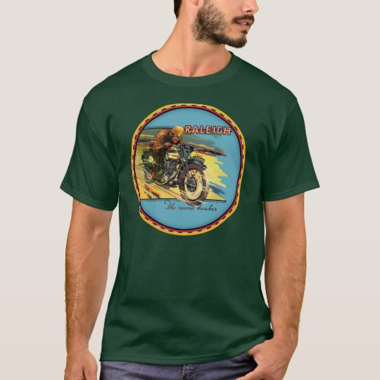 Raleigh Motorcycles sign T-Shirt