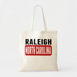 Raleigh North Carolina Budget Tote Bag