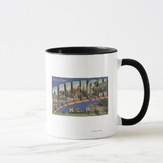 Raleigh, North Carolina - Large Letter Scenes 2 Mug