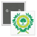 Raleigh, North Carolina Seal 15 Cm Square Badge