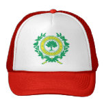 Raleigh, North Carolina Seal Trucker Hat