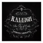 Raleigh, North Carolina - The City of Oaks