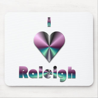 Raleigh -- Purple & Turquoise Mousepad