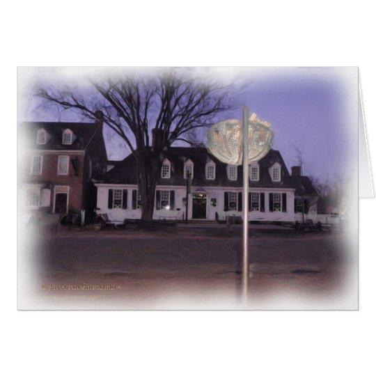 Raleigh Tavern Illumination Card