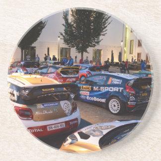 Rally Cars Coasters