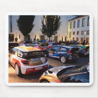 Rally Cars Mouse Pad