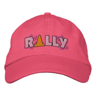 Rally Cone Embroidered Baseball Cap