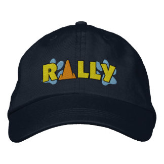 Rally Cone Embroidered Hats