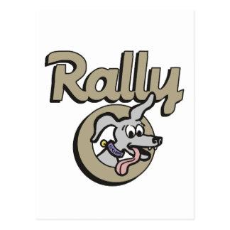 Rally-O 1B Postcard