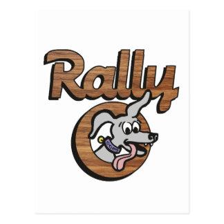 Rally-O 2B Postcard