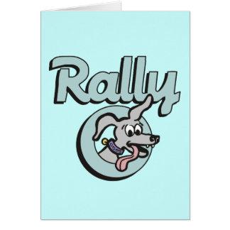 Rally-O 3B Greeting Card