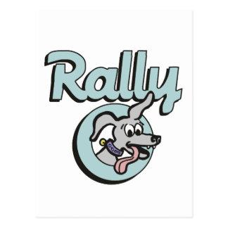 Rally-O 3B Postcards