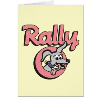 Rally-O 4B Greeting Card
