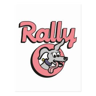 Rally-O 4B Post Card