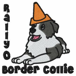 Rally-O Border Collie Embroidered Hoody