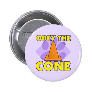 Rally-O Obey the Cone 6 Cm Round Badge