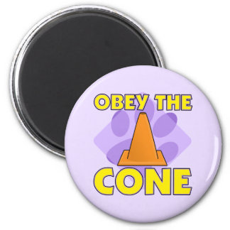 Rally-O Obey the Cone 6 Cm Round Magnet