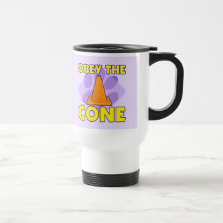 Rally-O Obey the Cone Stainless Steel Travel Mug