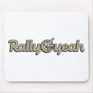 Rally-O-yeah 1 Mouse Pad
