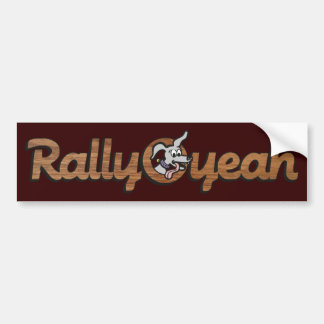 Rally-O-yeah 2 Bumper Stickers