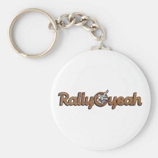 Rally-O-yeah 2 Keychain