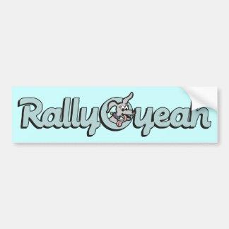 Rally-O-yeah 3 Bumper Sticker
