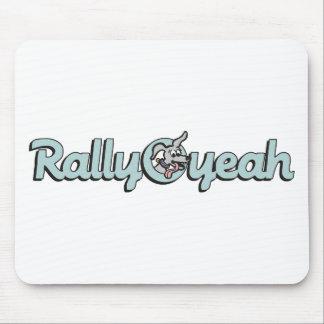 Rally-O-yeah 3 Mouse Pad