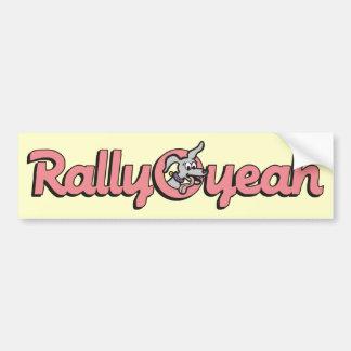Rally-O-yeah 4 Bumper Sticker