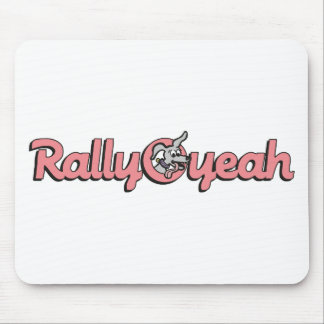 Rally-O-yeah 4 Mouse Pad