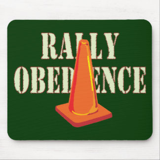 Rally Obedience Mouse Pad