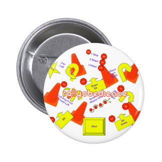 Rally Signs 6 Cm Round Badge