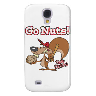 rally squirrel go nuts baseball cartoon galaxy s4 case