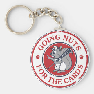 Rally Squirrel Key Ring