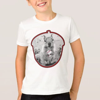 Rally Squirrel - Kids Louis unofficial mascot T-Shirt