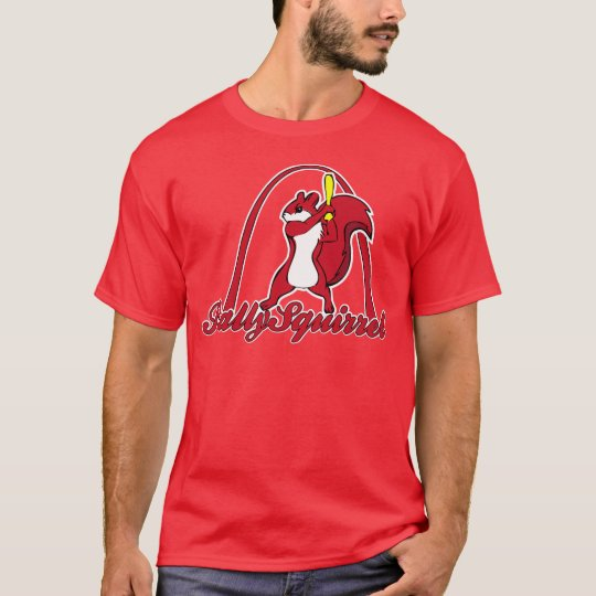 Rally Squirrel Shirt Mens Red