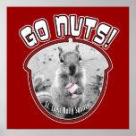 Rally Squirrel - St Louis, Missouri Print