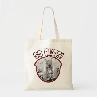 Rally Squirrel - St Louis unofficial mascot Budget Tote Bag