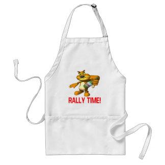 Rally Time Adult Apron