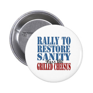 Rally To Restore Sanity Pinback Buttons