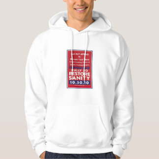 Rally to Restore Sanity, Keep Fear Alive Hoodie