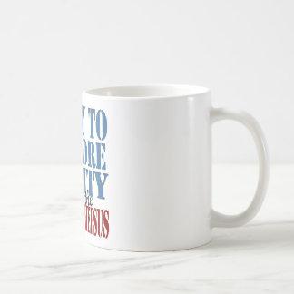 Rally To Restore Sanity Coffee Mug