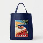 Rallye Automobile Monte Carlo Grocery Tote Bag
