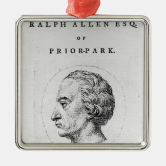 Ralph Allen, 1764 Christmas Ornament