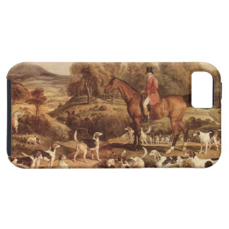 Ralph Lambton and his Hounds by James Ward iPhone 5 Case