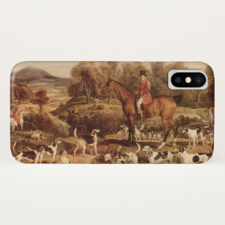 Ralph Lambton and his Hounds by James Ward iPhone X Case