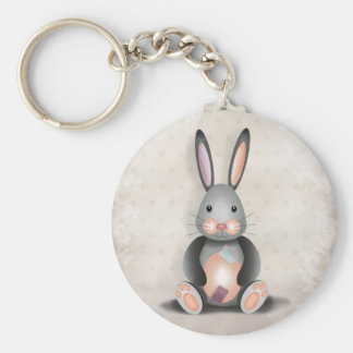 Ralph the Patchwork Rabbit - Key Chain