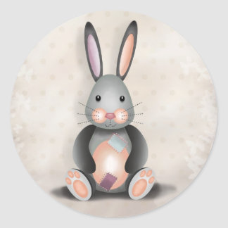 Ralph the Patchwork Rabbit - Stickers