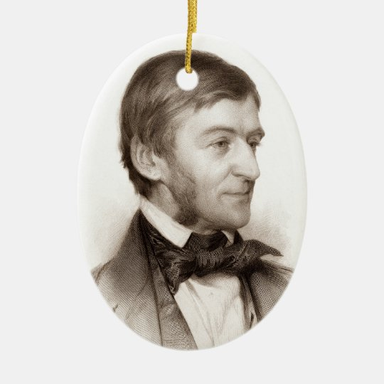 Ralph Waldo Emerson ornament