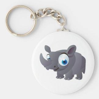 Ralphie The Rhinoceros Key Ring